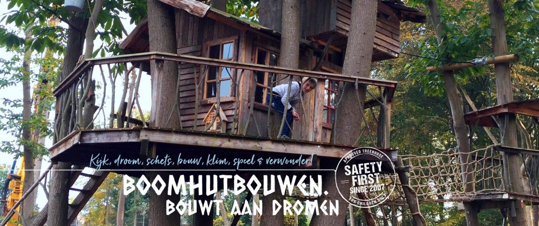 Boomhut bouwen